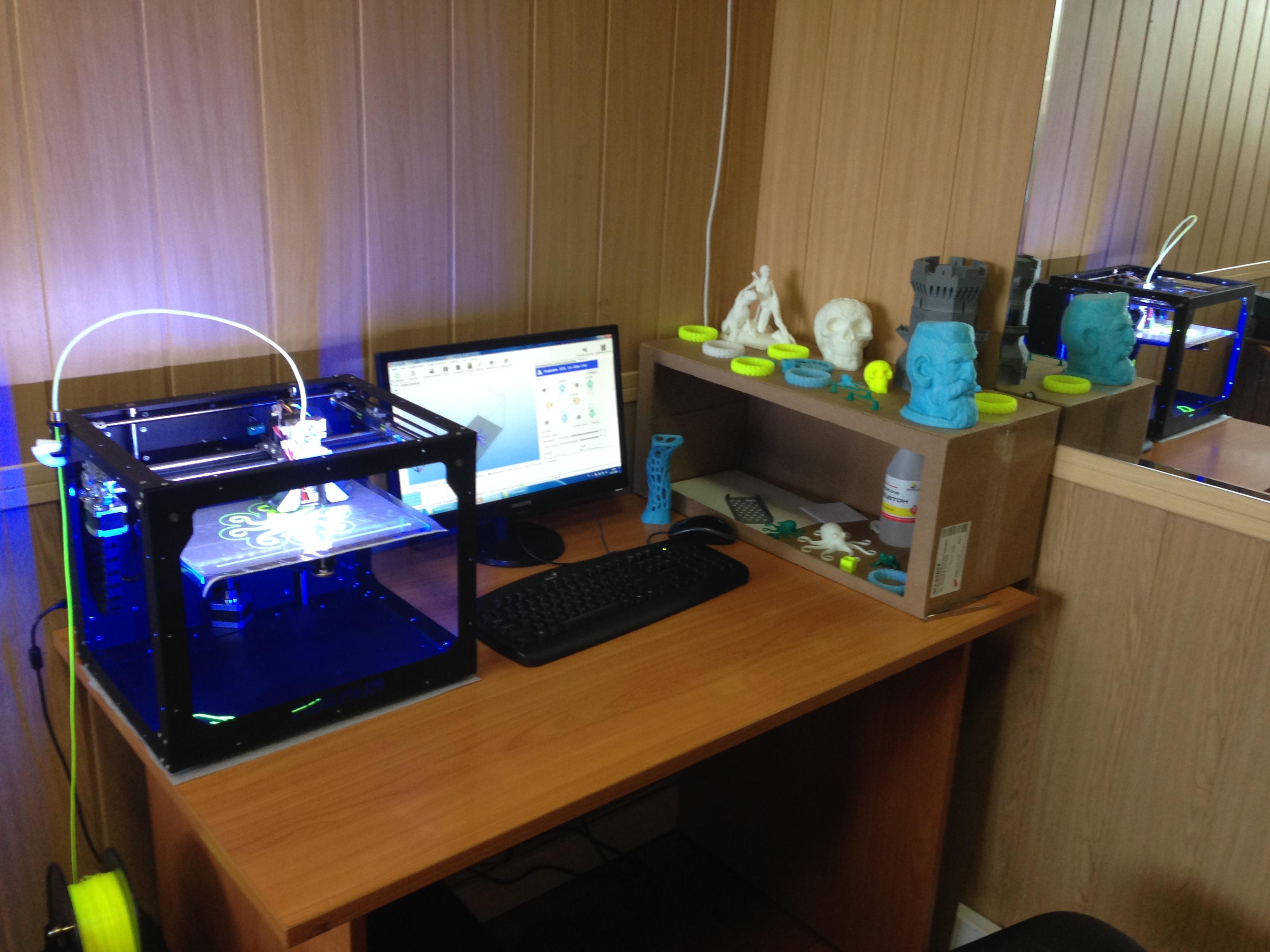 Настройка 3д принтера