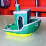 Фото: Цветные модель напечатана на 3Д принтере Magnum Creative 2 SW