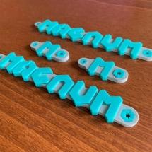 Фото: Двухцветная 3Д печать на 3Д принтере Magnum Creative 2 SW